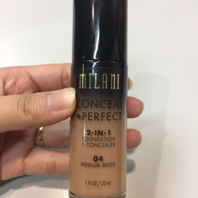 milani 2-in-1 foundation + concealer