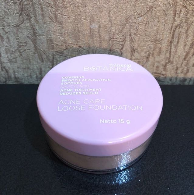 Mineral botanica acne loose powder