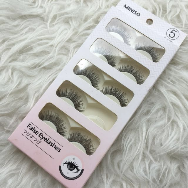 Miniso Fake Eyelashes
