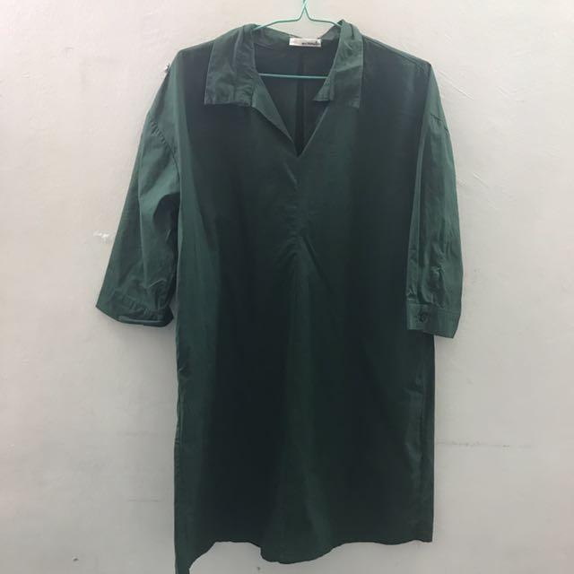 Mirrocle Green Dress