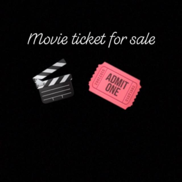 Movie ticket in Sm cinema