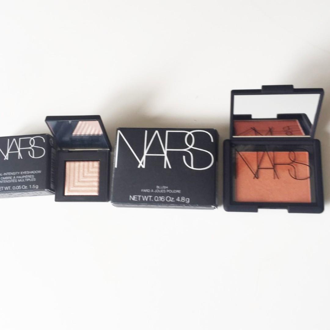 NARS Blush and NARS Eyeshadow. (Brand New)