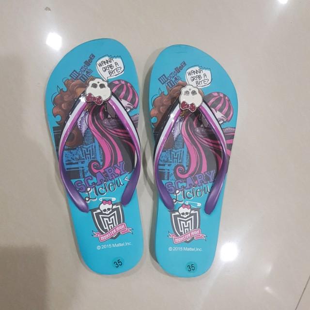 New! Monster High slipper