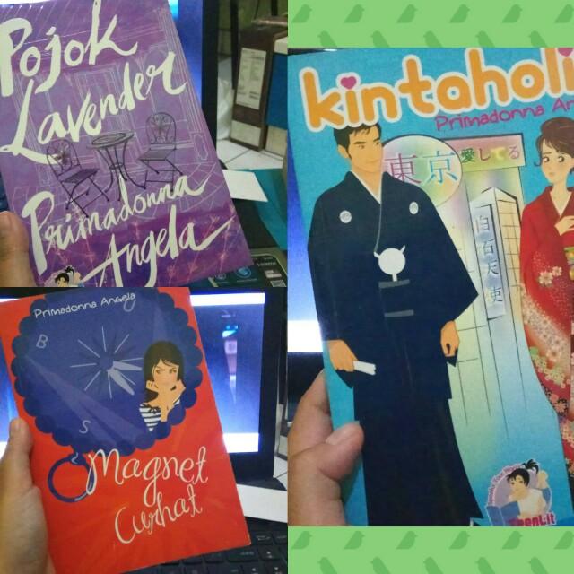Novel by Primadonna Angela (Pojok Lavender, Kintaholic, Magnet Curhat)