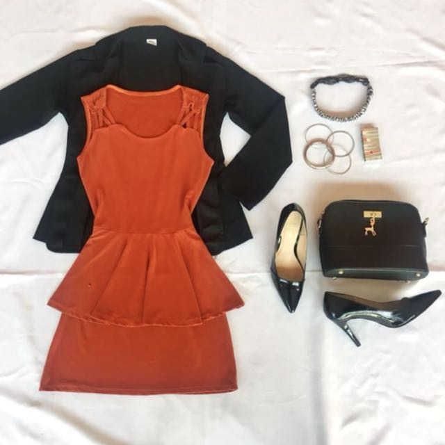 Office Dress Peplum (Semi Formal Attire)