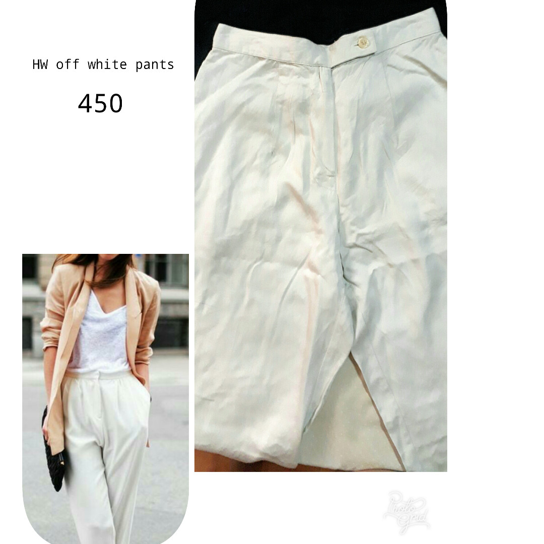 Off-white Loose pants