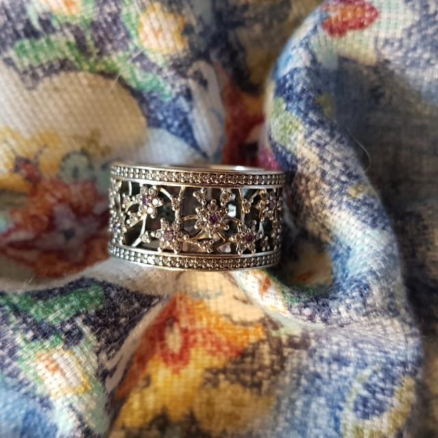 Forget Me Not Pandora Ring (retired)