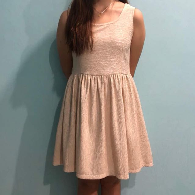 📮✔️Peach dress