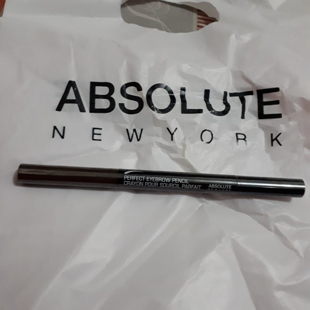 Perfect Eyebrow pencil Absolute Nelw York warna coklat