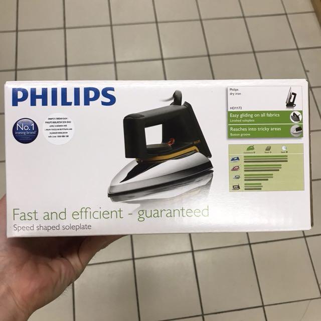 Philips dry iron HD1172