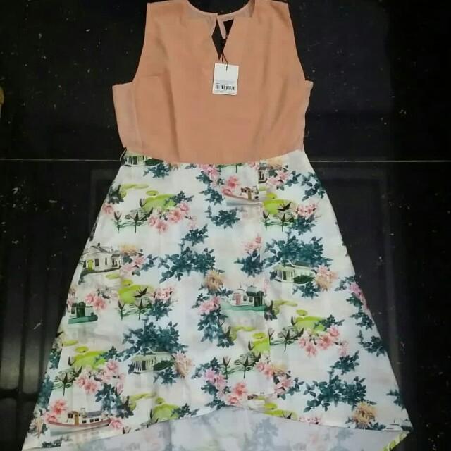 Plains and Prints Neils s/l dress