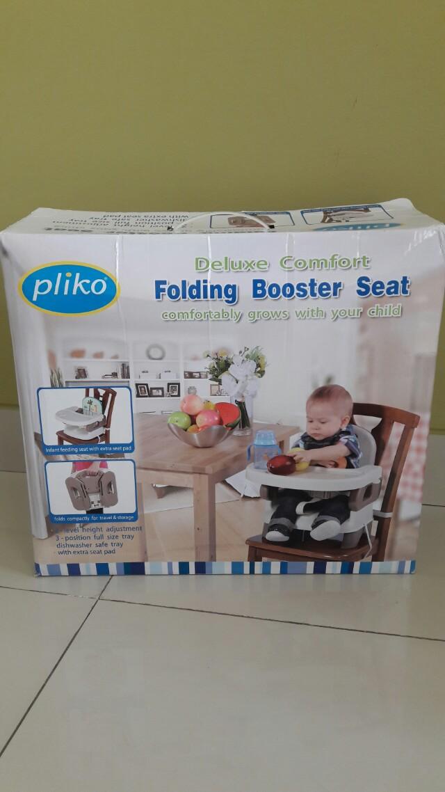 Pliko Baby Booster Seat - Kursi Makan Bayi