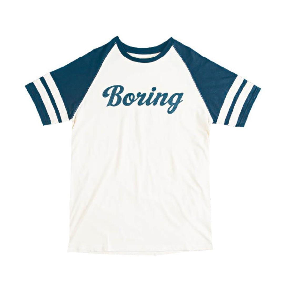 POLER STUFF Mens vintage Boring T
