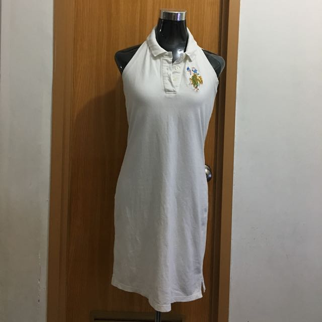 POLO WHITE DRESS