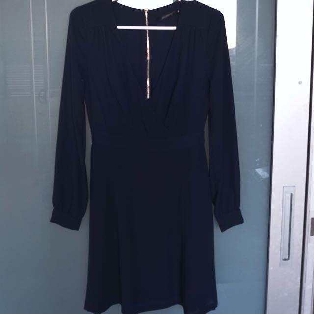 Portmans Navy Dress Size 6