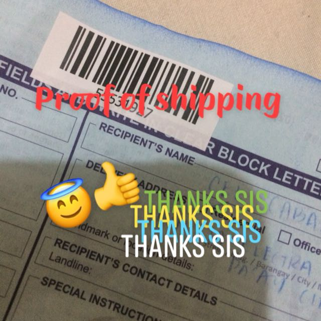 Proof of shipping!!!