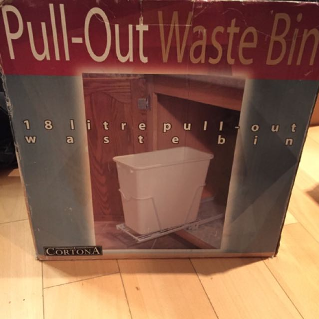 Pull out wast bin