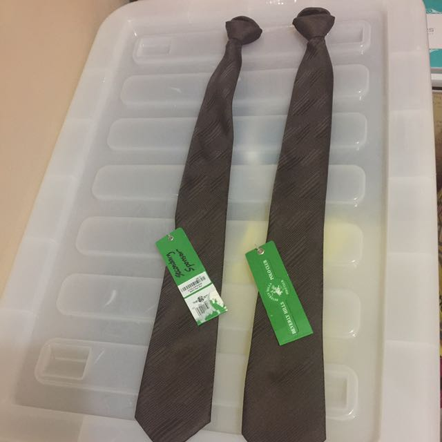 Ready-to-Wear Chocolate Brown Tie