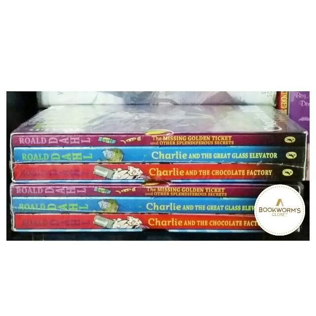 Roald Dahl Boxed Set (3 books)