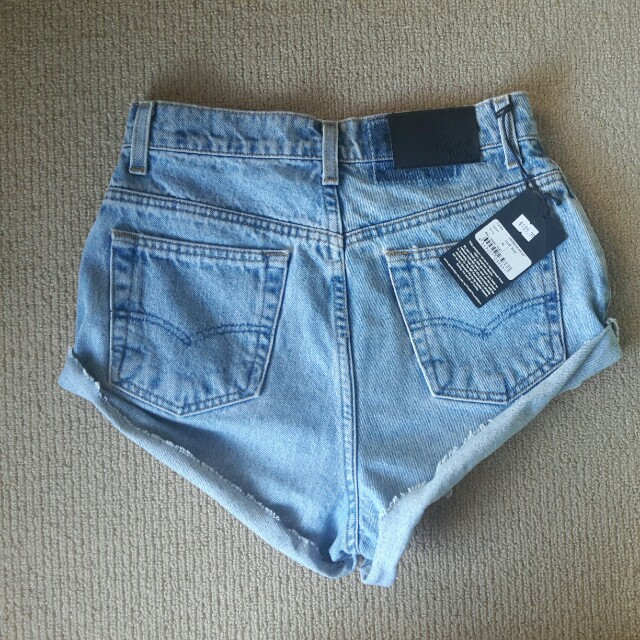30f15646f7 ROUNDTWO General pants vintage rolled up Levi's denim shorts sz XS 6/8 NWT  $109, Women's Fashion, Clothes on Carousell
