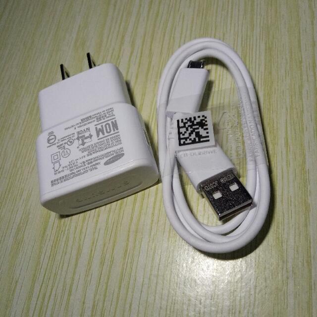 samsung original white charger
