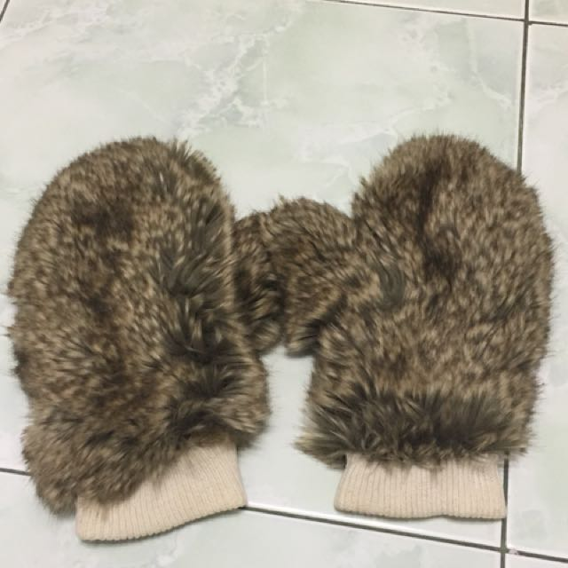 Sarung tangan H&M gloves mittens winter glove kulit anti air