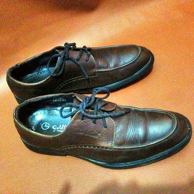 Sepatu Kulit Goldion Original