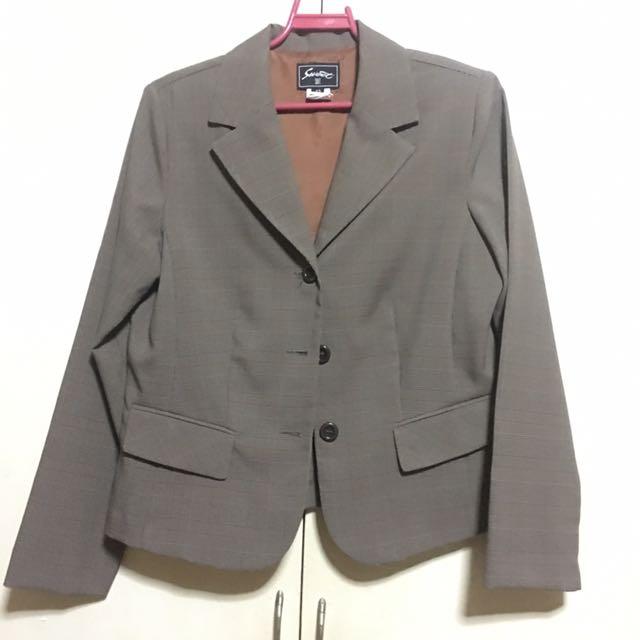 Set of Office Blazer & Skirt US 12/XL