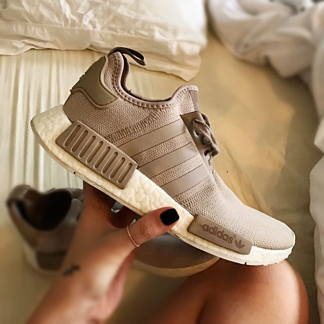 "Size 8 Adidas R1 NMD ""Sand"""