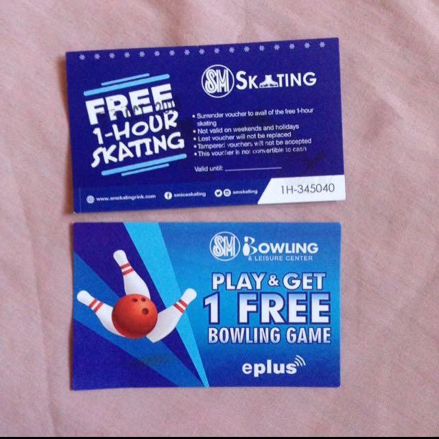 Sm Skating and Sm Bowling Bundle