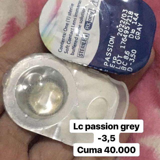 SOFTLENS MINUS 3,5 (lc passion grey)