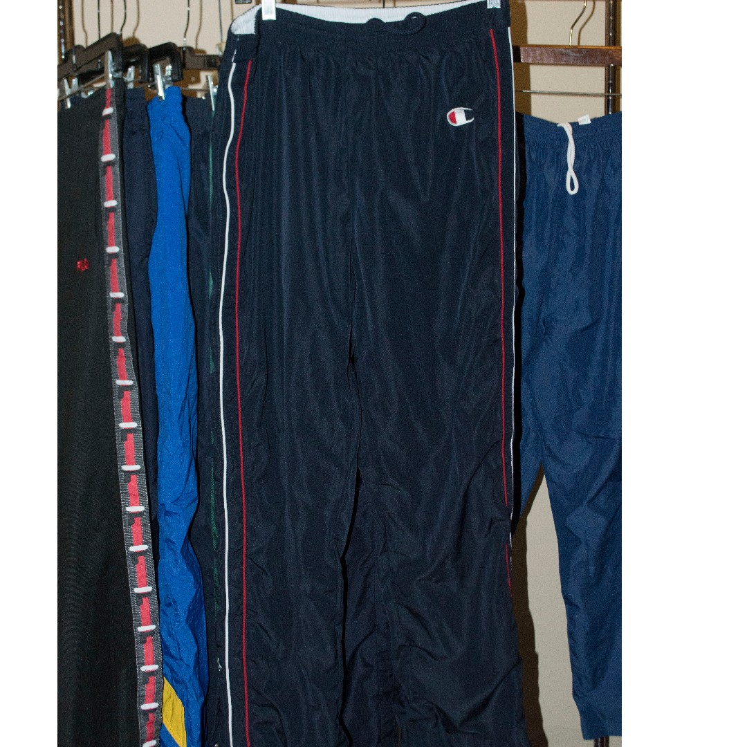 Striped Champion Tear Away Pants
