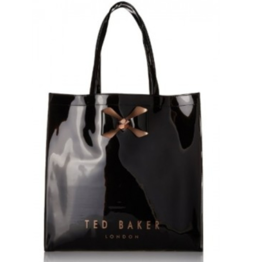 c063ed9692 Ted Baker Bowicon Plain Bow Large Icon Tote Bag, Women's Fashion, Bags &  Wallets on Carousell