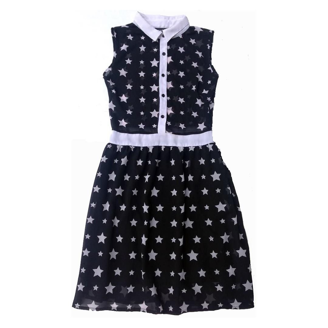 Terranova Black and White Dress