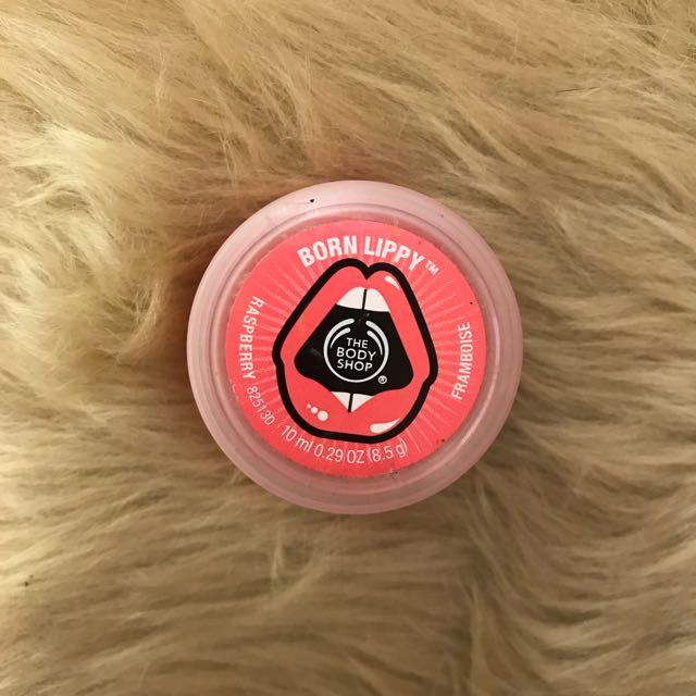 The Body Shop Born Lippy Tinted Lip Balm - Raspberry