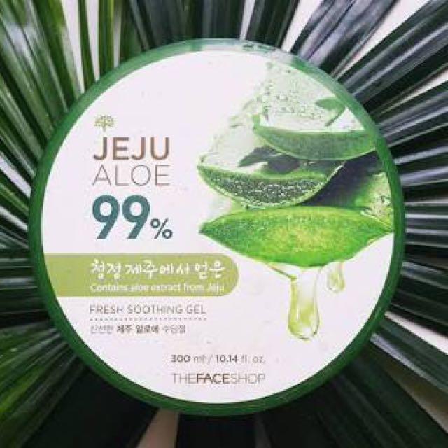 The Face Shop Jeju Aloe Vera Gel
