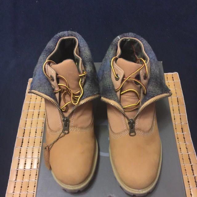 降價!Timberland 黃短靴 US 8.5號/26.5cm!過年特價