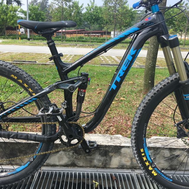 "9fc20965011 Trek Remedy 8 Full Suspension Frame Only 15.5"" for 27.5 (650b, open ..."