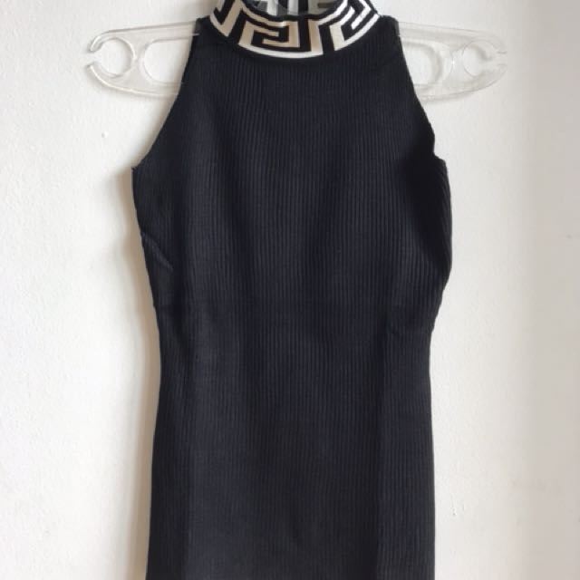 Turtle neck hitam import