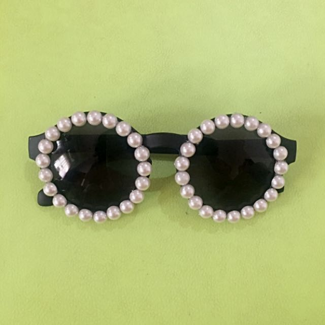 Unbranded Pearl Round Sunnies