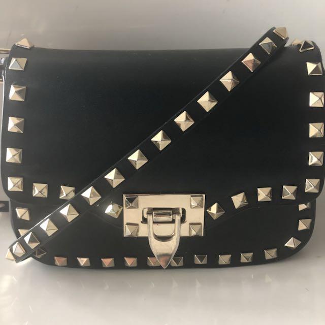 Valentino rockstar mini crossbody bag