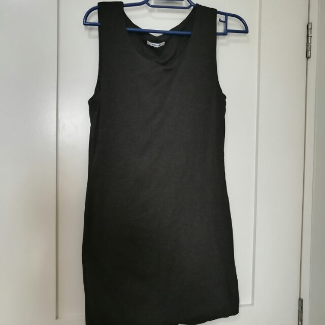Valley Girl Grey Bodycon Dress (from Australia)