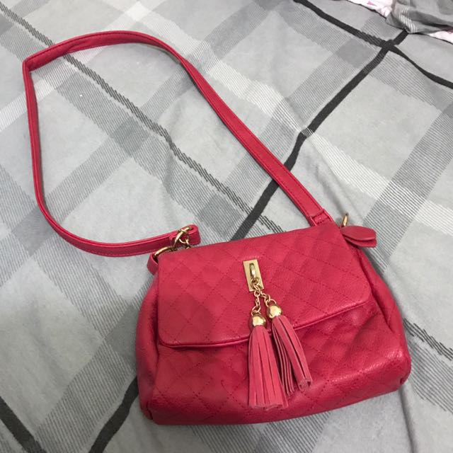 Valleygirl Red Crossbody shoulder bag