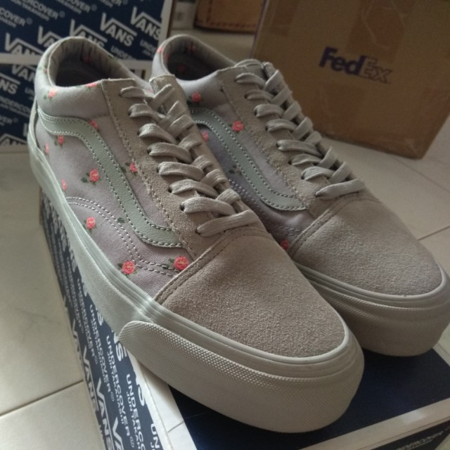 963fd86522 Vans x Undercover OG Old Skool LX (Small Flower Gray)