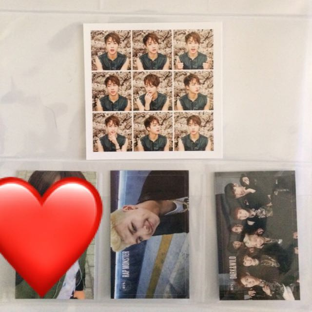 Various BTS Photocards