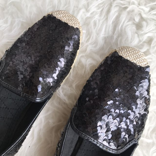 VNC SEQUIN SHOES