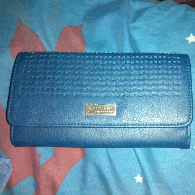 wallet blue Oriflame