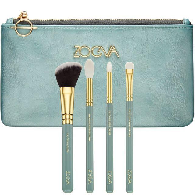 Zoeva 刷具四件組-湖水綠