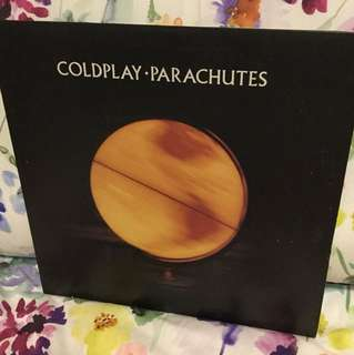Coldplay - parachutes lp vinyl
