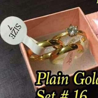 Plain gold